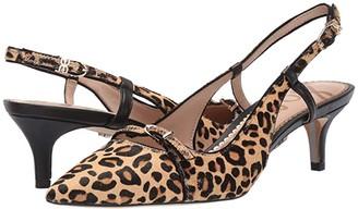 Sam Edelman Denia (New Nude/Black Baby Leopard Brahma Hair/Butter Nappa Leather) Women's Shoes