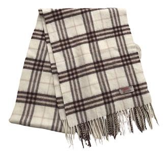 Burberry Ecru Cashmere Scarves & pocket squares