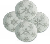 Mikasa Winter Flurries Set of 4 Salad Plates