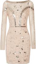 Temperley London Klementina embellished tulle mini dress