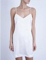 La Perla Silk essence short stretch-silk nightgown