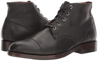 Frye Will Chukka (Black Pressed Full Grain) Men's Boots