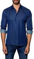 Jared Lang Men's Dobby Sport Shirt