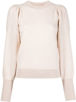 Ulla Johnson long-sleeve fitted jumper