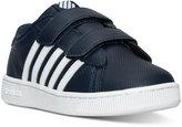 K-Swiss Little Boys' Hoke Velcro Casual Sneakers from Finish Line