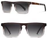 Shwood Men's 'Govy 2' 52Mm Polarized Sunglasses - Fog/ Elm/ Grey