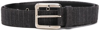 Gianfranco Ferré Pre Owned 1990 Crocodile-Effect Buckle Belt