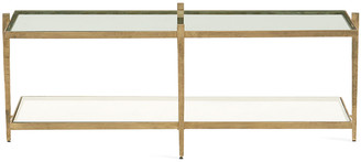 Global Views Laforge Antiqued Gold Coffee Table