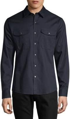 Michael Kors Slim-Fit Long-Sleeve Shirt