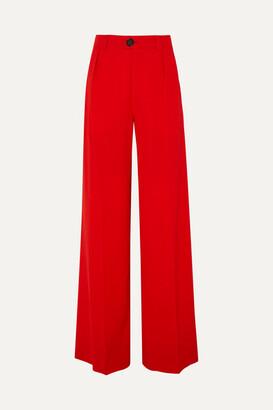 Kwaidan Editions Wool-blend Wide-leg Pants - Red