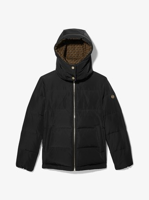 MICHAEL Michael Kors Logo-Lined Quilted Puffer Jacket