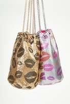 Whiting & Davis Kisses Bucket Bag by at Free People