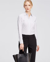 Ann Taylor Mini Square Perfect Shirt