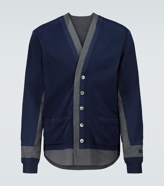 Undercover Wool knitted cardigan