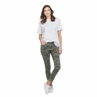 Mud Pie Women's Rory Green CAMO Jeans S Small