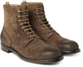 Officine Creative - Tempus Burnished-suede Boots
