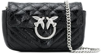 Pinko Sparrow Quilted Cross-Body Bag