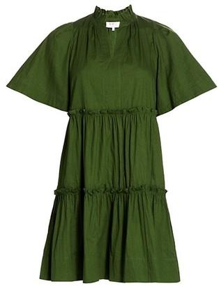 Sea Tivoli Short-Sleeve Mini Dress