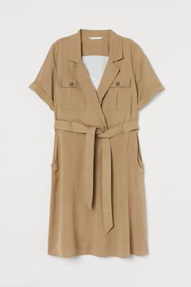 H&M MAMA Twill nursing dress