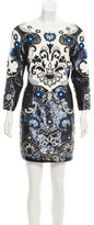 Needle & Thread Sequined Embroidered Dress