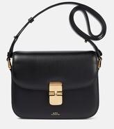 Thumbnail for your product : A.P.C. Grace leather shoulder bag