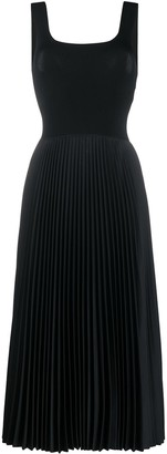Theory Sleeveless Pleated Dress