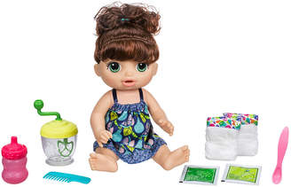 Hasbro Baby Alive Sweet Spoonfuls Brown Curly Hair Baby Doll Girl