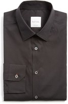 Paul Smith Men's Extra Trim Fit Dot Print Dress Shirt