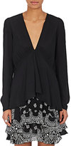 A.L.C. Women's Loren Silk Georgette Blouse