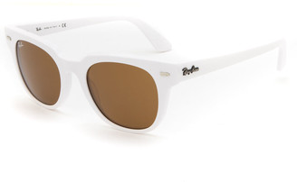 Ray-Ban Meteor Classic RB2168 White Sunglasses