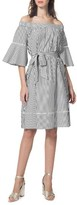 Donna Morgan Women's Poplin Shift Dress