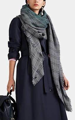 Barneys New York Women's Alix Cashmere-Silk Scarf - Turquoise