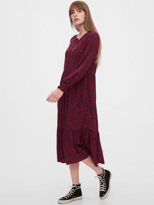 Gap Henley Midi Dress