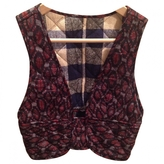 Isabel Marant Quilted embroidered cardigan