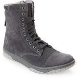 Diesel Grey Tatradium Basket Butch Zippy Boots