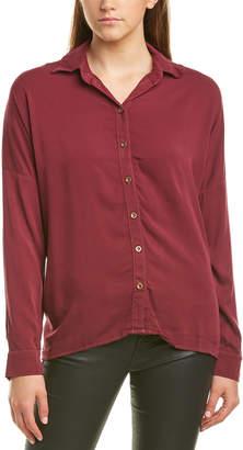 Michael Stars Boxy Button Up Shirt