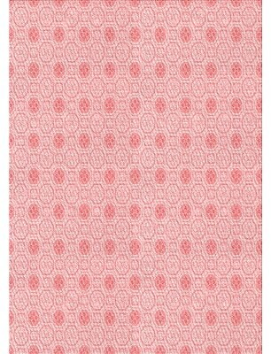 East Urban Home Floral Wool Pink Area Rug Rug Size: Runner 2' x 5'