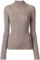 Joseph skinny fit rib knit sweater