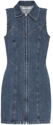 GRLFRND Colette denim dress