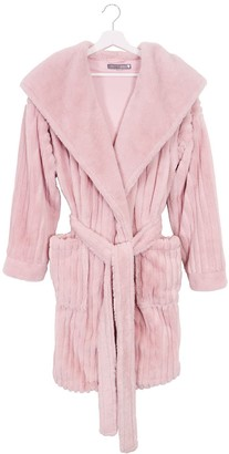 Pretty You London Cloud Robe In Pink