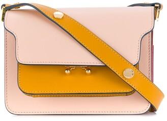 Marni Panelled Colour Block Shoulder Bag