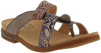 Spring Step L'Artiste by Leather Slide Sandals- Pierce