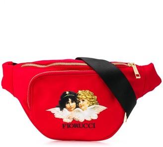 Fiorucci Angels logo print belt bag