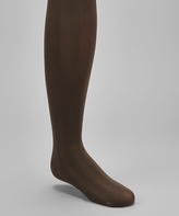 Me Moi Brown Stripe Tights - Toddler & Girls