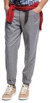 Brunello Cucinelli Lightweight Flannel Wool Pants