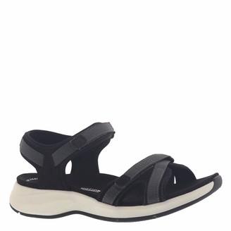 Clarks Women's Solan Drift Flat Sandal