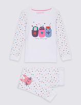 Marks and Spencer Animal Print Pyjamas (9 Months - 8 Years)