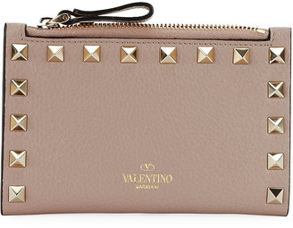 Valentino Garavani Rockstud Coin Purse/Card Case