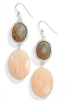 Simon Sebbag Women's Semiprecious Stone Double Drop Earrings