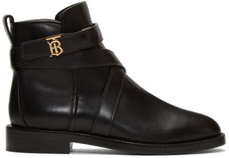 Burberry Black Pryle TB Boots